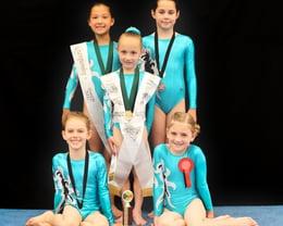 2016/2017 Step 1 Gymnasts